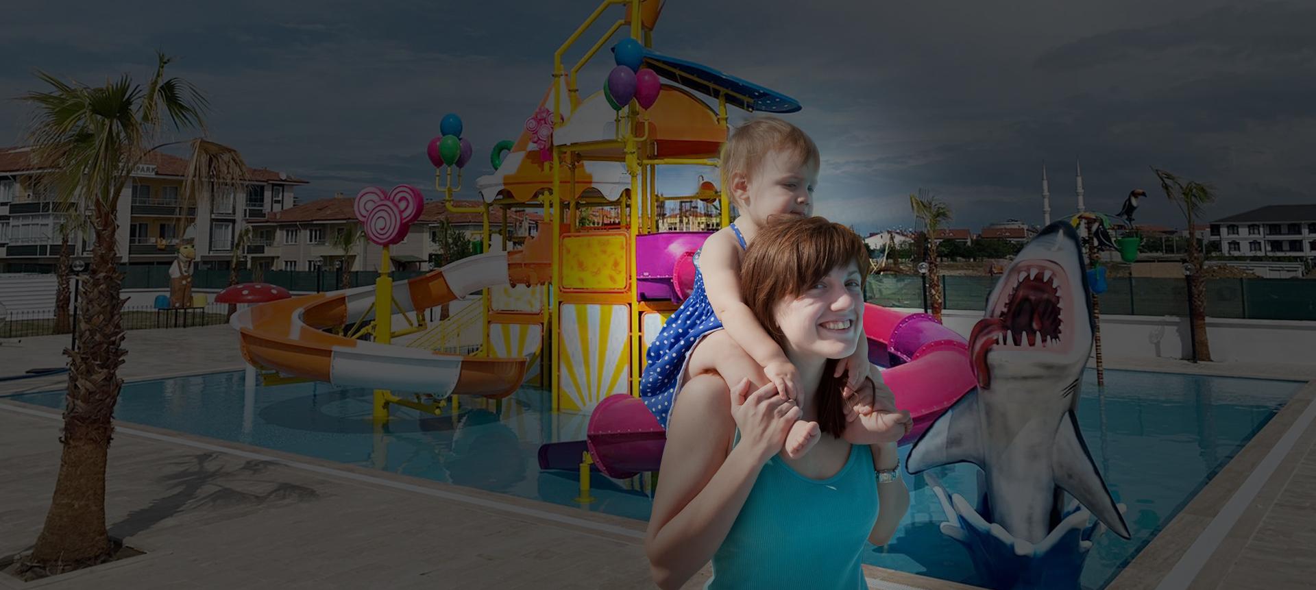 Sakarya'nın İlk ve Tek Çocuk Aqua Parkı!